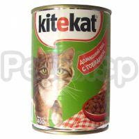 Китекат (Kitekat) консерва говядина