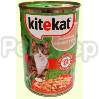 Китекат (Kitekat) консерва утка