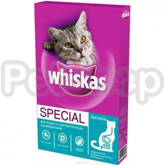 Вискас (Whiskas) для котов с чувствительным пищеварением