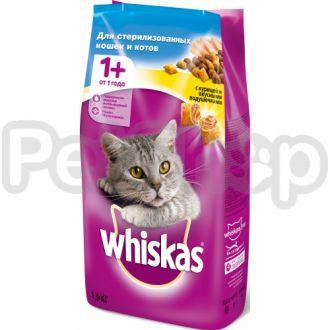 Вискас (Whiskas) для кастрированых котов