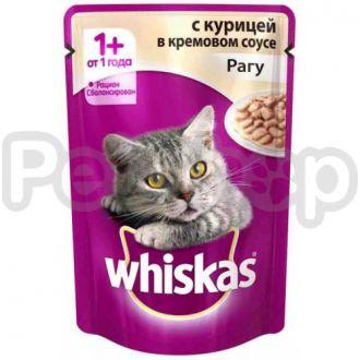 Вискас (Whiskas) пауч курица в соусе
