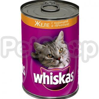 Вискас (Whiskas) кон  курица и печень