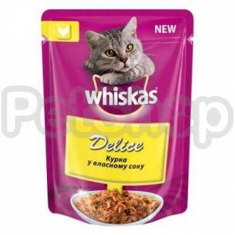 Вискас (Whiskas) Delice тушеная курица