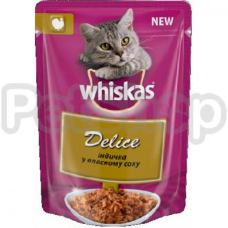 Вискас (Whiskas) Delice тушеная индюшка