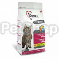 1st Choice Sterilized Chicken ФЕСТ ЧОЙС СТЕРИЛАЙЗИД КУРИЦА сухой супер премиум корм для кастрированных котов и стерилизованных кошек