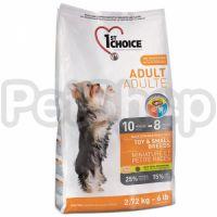 1st Choice (Фест Чойс) с курицей сухой супер премиум корм для взрослых собак мини и малых пород