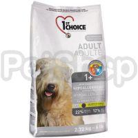 1st Choice (Фест Чойс) с уткой и картошкой гипоаллергенный сухой супер премиум корм для собак