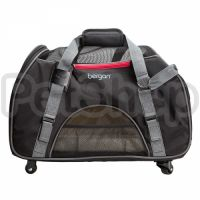Bergan Wheeled Comfort Carrier переноска БЕРГАН ВИЛД КОМФОРТ сумка переноска на колесах для собак и кошек