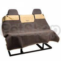 Bergan Microfiber Auto Bench Seat Protector БЕРГАН МИКРОФИБРА АВТО накидка для перевозки собак на задних сидениях автомобиля
