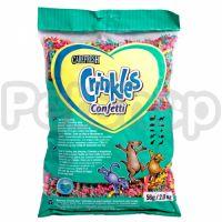 CareFRESH КРИНКЛЕС КОНФЕТТИ (Crinkles Confetti) серпантин для грызунов, птиц, рептилий