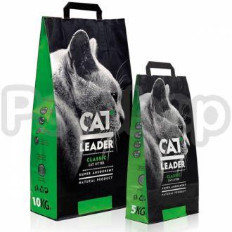 Кэт Лидер (CAT LEADER) супер-впитывающий наполнитель в кошачий туалет