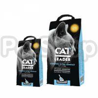 Cat Leader Clumping Wild Nature КЭТ ЛИДЕР АРОМАТ ДИКОЙ ПРИРОДЫ ультракомкующийся наполнитель в кошачий туалет