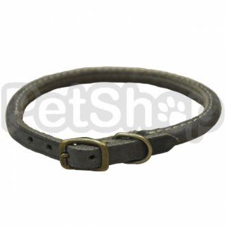 Coastal Circle-T круглий кожаный ошейник для собак, 0,8смХ30см
