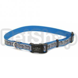 Coastal Lazer свето-отражающий ошейник для собак, 2,5смХ45-71см