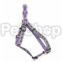 Coastal Lazer свето-отражающая шлея для собак, 1смХ31-48см