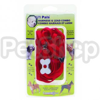 Coastal Bone Combo шлея для собак, нейлон, 0,7смХ35cм