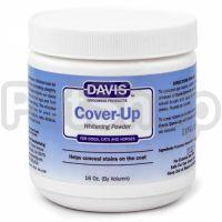 Davis Cover-Up Whitening Powder ДЭВИС КАВЕР-АП маскирующая отбеливающая пудра для собак, котов