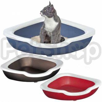 Imac Fred АЙМАК ФРЭД угловой открытый туалет для кошек, пластик