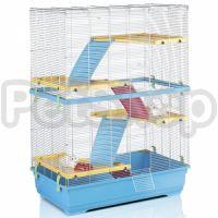 Imac Rat 80 Double АЙМАК РЭТ 80 ДАБЛ - клетка для крыс, 4-х ярусная, пластик