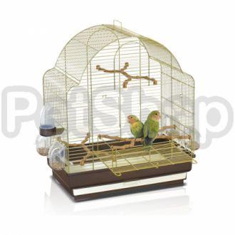 Imac Elisa АЙМАК ЭЛИСА клетка для средних попугаев, пластик, латунь