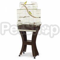 Imac Matilde АЙМАК МАТИЛЬДА клетка для попугаев с подставкой, пластик, латунь