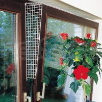 Flamingo Window Prot Grille ФЛАМИНГО защитные сетки на окна для котов, боковые ограничители, белый