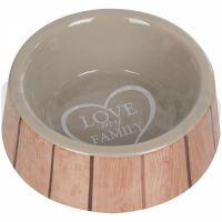 Flamingo Shabby Chic Bowl Heart ФЛАМИНГО ШЕБИ ШИК миска для собак, керамика, 400 мл