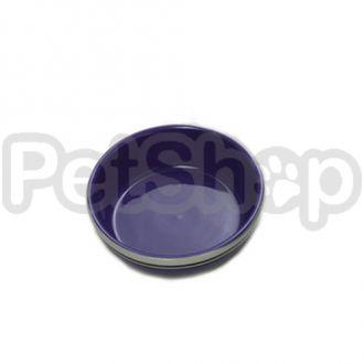 Karlie-Flamingo CERAMIC BLUE/GREY миска серо-голубая для собак и кошек, керамика