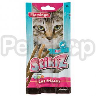 Karlie-Flamingo (Карли-Фламинго) STIKIZ FISH стикиз лакомство палочка для кошек и котят со вкусом рыбы