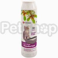 Flamingo Cat Litter Deodoriser ФЛАМИНГО дезодорант для кошачьего туалета
