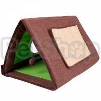 Flamingo Cat Tent 3in1 ФЛАМИНГО ТЕНТ 3в1 спальное место, палатка-домик когтеточка для котов 3в1