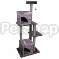 Flamingo Villa Scratch Pole 2 ФЛАМИНГО домик когтеточка для кошек