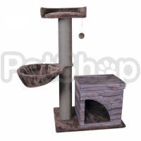 Flamingo Villa Scratch Pole ФЛАМИНГО ВИЛЛА СКРЕТЧ ПОУЛ домик когтеточка для котов