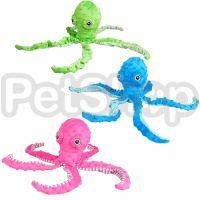 Flamingo Bubbly Plush Octopus ФЛАМИНГО ПЛЮШЕВЫЙ ОСЬМИНОГ мягкая игрушка для собак