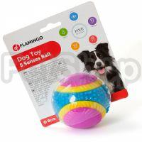 Flamingo 5 Senses Ball ФЛАМИНГО МЯЧ 5 ЧУВСТВ игрушка для собак, резина