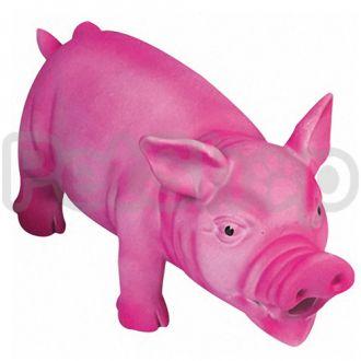 Karlie-Flamingo (Карли-Фламинго) SWINE PINK игрушка для собак, поросенок реалистично хрюкающий, розовый, латекс