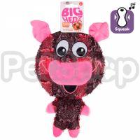 Flamingo Big Headz ФЛАМИНГО БИГ ХЕДЗ игрушка для собак, большая голова с пищалкой