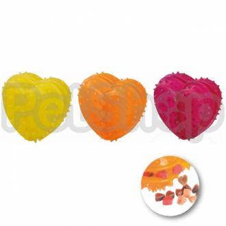 Karlie-Flamingo (Карли-Фламинго) GOOD4FUN HEART REFILLABLE игрушка для собак в виде сердечка для лакомств, резина