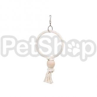 Karlie-Flamingo (Карли-Фламинго) RING игрушка для попугаев веревочное кольцо