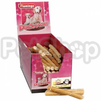 Karlie-Flamingo (Карли-Фламинго) CIGARE WITH YOUGURT лакомство для собак, сигара с начинкой йогурт