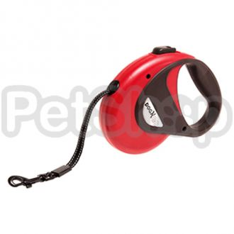 Karlie-Flamingo DOGX TO GO BELT 5M, S поводок рулетка для собак весом до 12 кг, 5 м