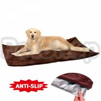 Flamingo Thermo dog blanket термоподстилка для собак, коричневый