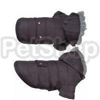 Karlie-Flamingo (Карли-Фламинго) POLAR BLACK ПОЛАР одежда для собак куртка с капюшоном, черный