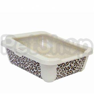 Moderna СТИЛЬ туалет с бортиком для котов