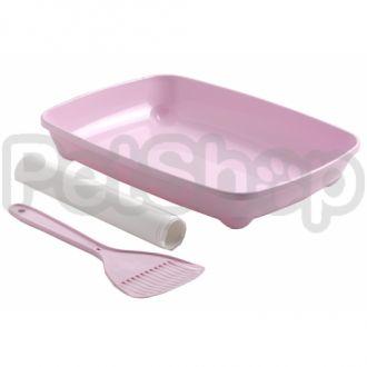 Moderna АРИСТ-О-ТРЭЙ туалет для котят с лопаткой и пакетами