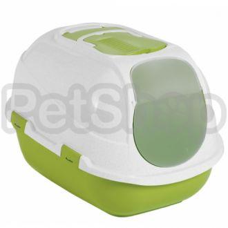 Moderna МЕГАКОМФИ КЭТ закрытый туалет для котов, 66Х46Х50 см