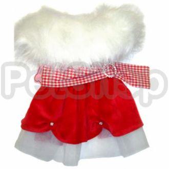 MonkeyDaze САНТА (Santa Dress) новогоднее платье, одежда для собак