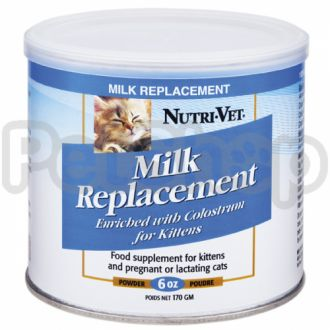 Nutri-Vet Kitten Milk НУТРИ-ВЕТ МОЛОКО ДЛЯ КОТЯТ заменитель кошачьего молока для котят, 170 г