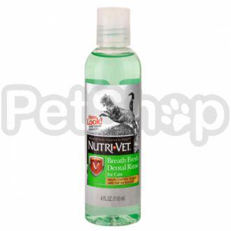 Nutri-Vet СВЕЖЕЕ ДЫХАНИЕ (Breath Fresh) жидкость от зубного налета для котов