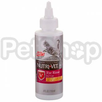 Nutri-Vet ЧИСТЫЕ ГЛАЗА (Eye Cleanse) глазные капли для котов